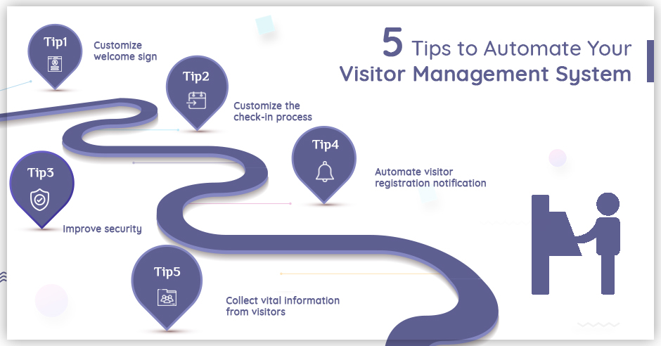 5 Tips to Automate Your Visitor Management System